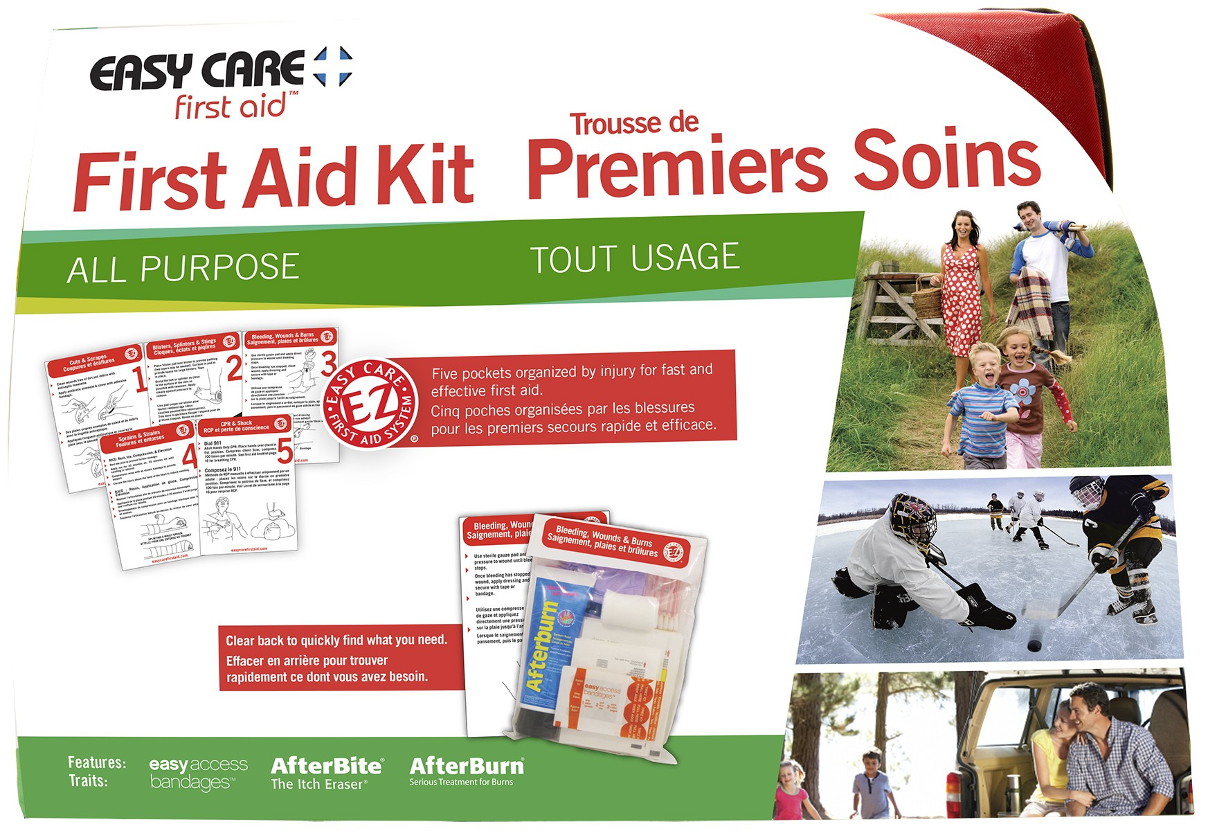 Adventure Medical Easy Care All-Purpose First Aid Kit
