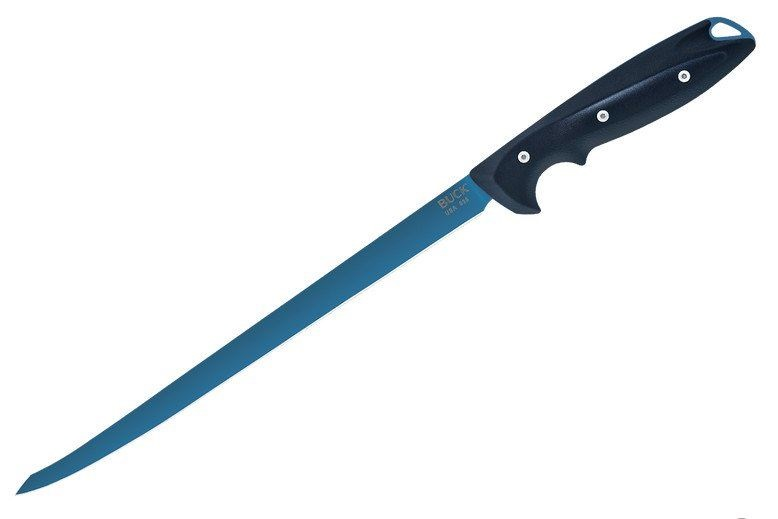 "Buck 0036BLS Abyss 9"" Fillet Knife Blue Cerakote"
