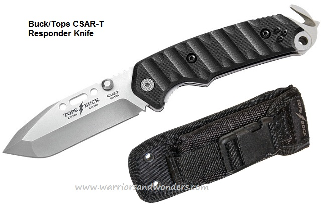 Buck Knives 0091BKSTP1 Tops CSAR-T Responder Folding Knife