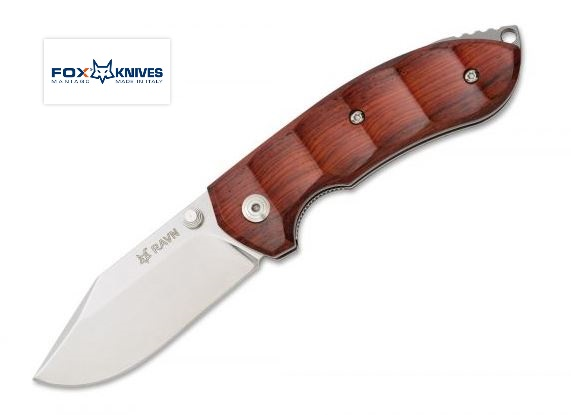 FOX 514 Ravn Cocobolo N690 Folding Knife Italy