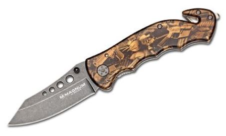 Boker Magnum Bronze Rescue Folder 01LG288 (Online Only)