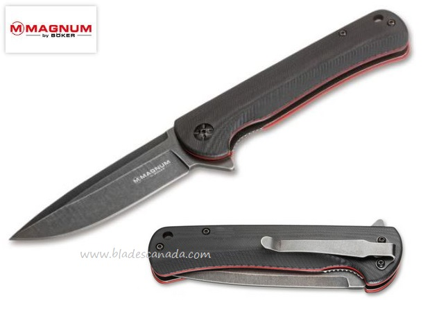Boker Mobius Linerlock Flipper Folding Knife, 01MB726