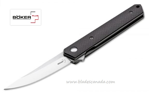 Boker Plus 01BO283 Kwaiken Mini Flipper, VG-10, Carbon Fiber (Online Only)