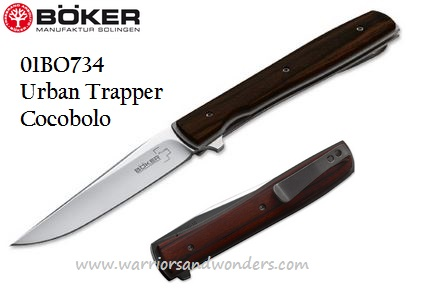 Boker Plus 01BO734 Urban Trapper Cocobolo VG-10 Folder