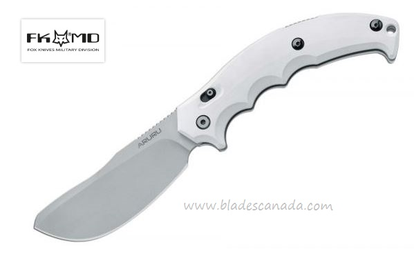 Fox Italy FX506W Aruru White Folding Knife, N690, 01FX004