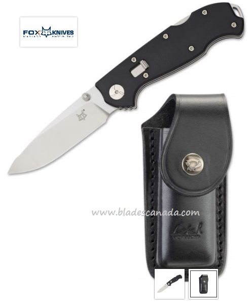 Fox Italy RL01G10 Folding Knife N690 Ron Lake Design