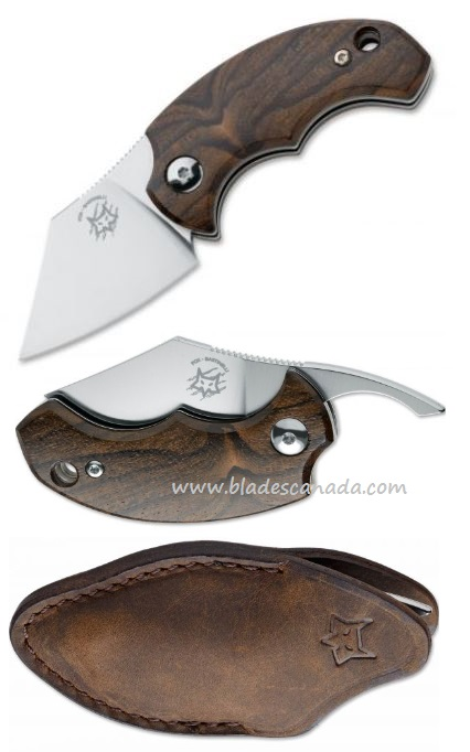 Fox Italy FX-519ZW BB Drago Ziracote Folding Knife