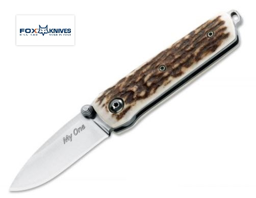 Fox Italy FX279CE My One Stag N690 Folding Knife Italy
