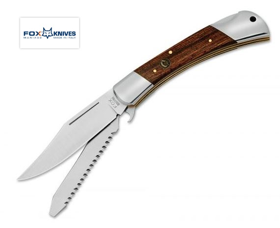 Fox Italy FX589 Win Folding Knife, Rosewood