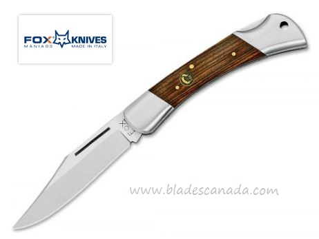 Fox Italy Win 582 Folding Knife, Rosewood 01FX072