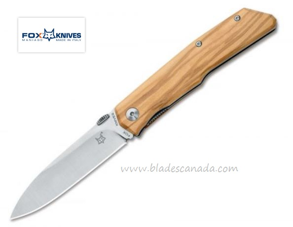 Fox Italy FX525OL Terzuola 525 Olive Wood, N690 (Online Only)
