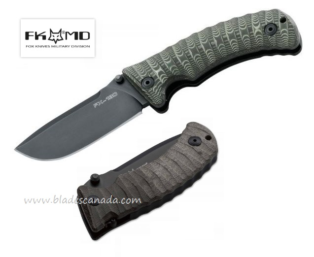 Fox Italy FX130MGT FKMD Pro Hunter, N690, Micarta Handle