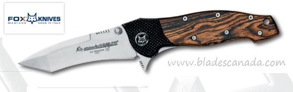Fox Italy FX459B Elishwitz Folding Knife, Bocote Wood (Online Only)