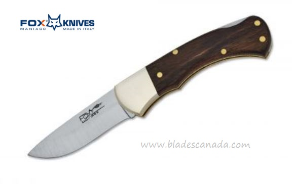 Fox Italy 591 Mini Backlock, Rosewood, 01FX183