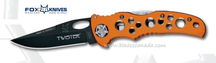 Fox Italy 453 Twister Orange, 440C, 01FX196