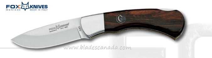 Fox Italy Silver Collection 593 Folder, Palisander Wood, 01FX203