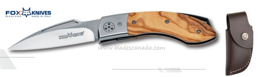 Fox Italy Dream Catcher Olive Wood 4400L Folder, N690, 01FX238