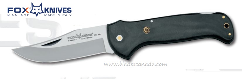 Fox Italy Forest 577ML, N690 Steel, Micarta Handle 01FX268