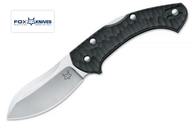 Fox Knives 305 Zero Black Folding Knife N690 Jens Anso Design