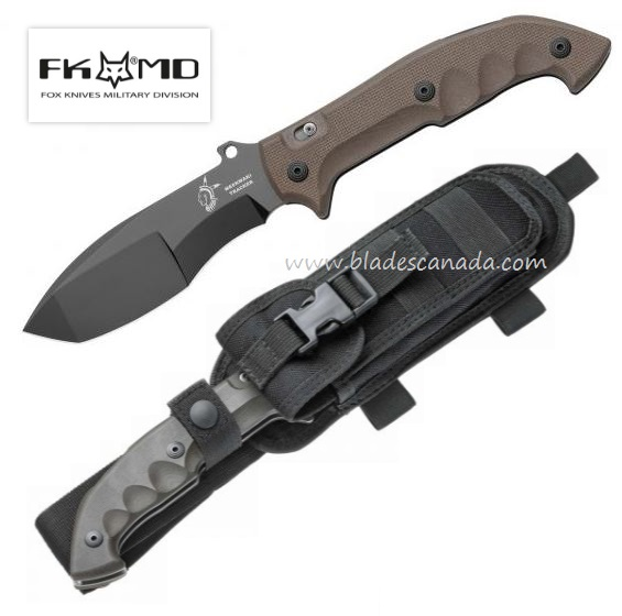 "Fox Italy FX501 Meskwaki Tracker G10, N690, 12.2"" Folding Knife"