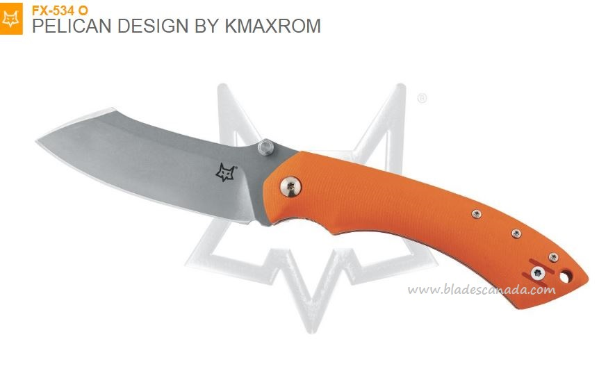 Fox Italy FX534-O Kmaxrom Pelican Orange, N690, G10