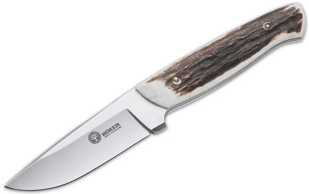 Boker Arbolito 02BA338H Skinner Stag w/Leather (Online Only)