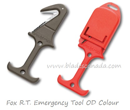 Fox Italy FX640/22OD R.T. Airborne Emergancy Tool ,OD colour