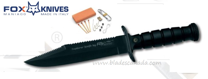 Fox Italy FX697T Military Explorer Knife