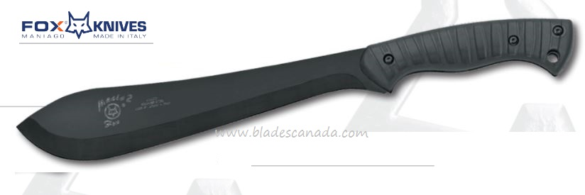 "Fox Italy 680T Machete, Sandvik 12C27, 17.5"" w/Sheath, 02FX135"