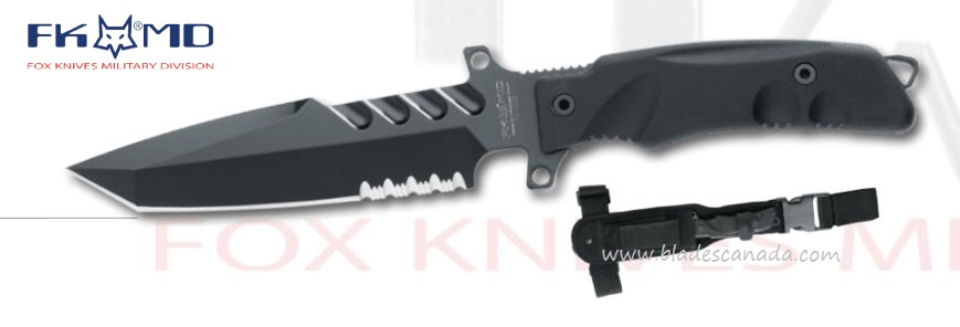 Fox Italy FKMD Fighting Utility Knife FXG2B, N690,