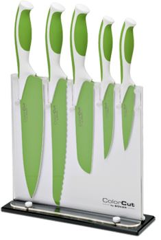 Boker Kitchen Color Cut 6 Piece Set Apple Green (Online Only)
