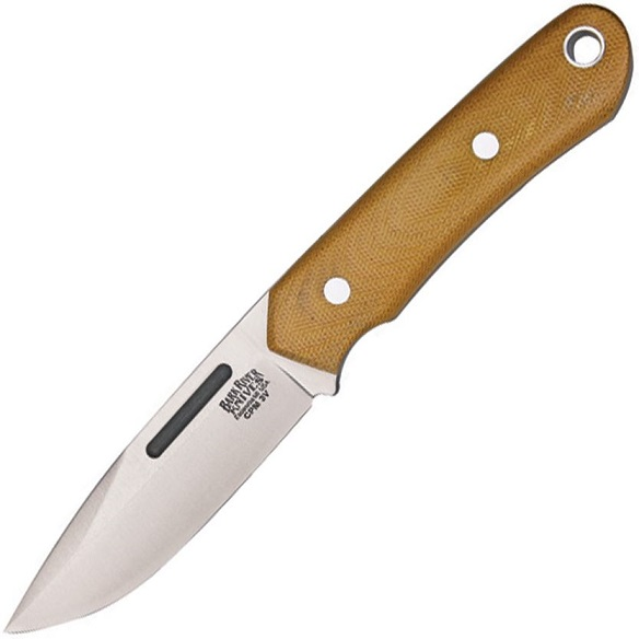 Bark River 05130MNC Springbok CPM 3V - Natural Micarta