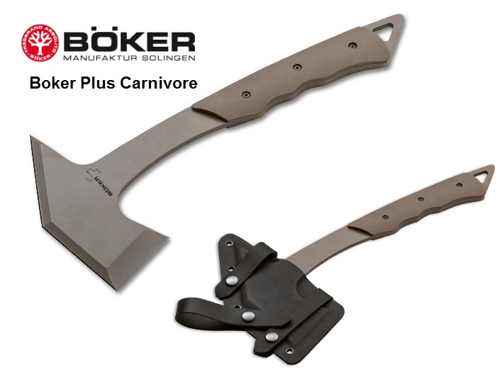 Boker Plus Carnivore Axe by Jim Burke, Kydex 09BO111 (Online Only)
