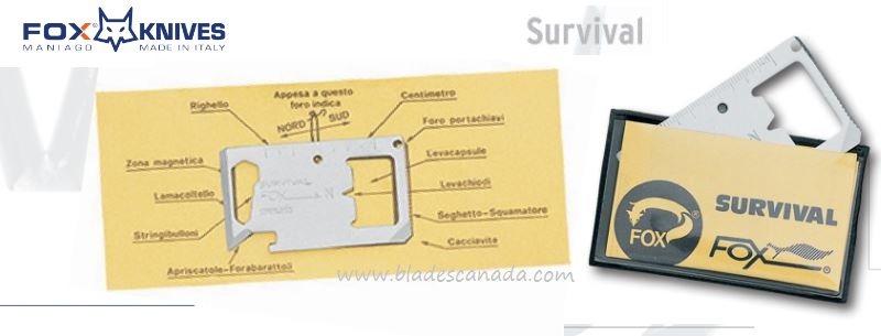Fox Italy Survival Card 2000, 420A, 09FX021
