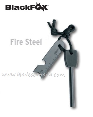 BlackFox Fire Steel, EX001620BLK, 09FX026
