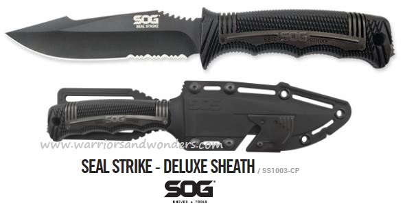 SOG SS1003 Seal Strike Deluxe Sheath (Online Only)