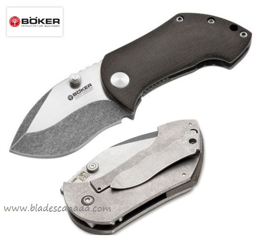 Boker Germany Black Wood Pipsqueak 110623 (Online Only)