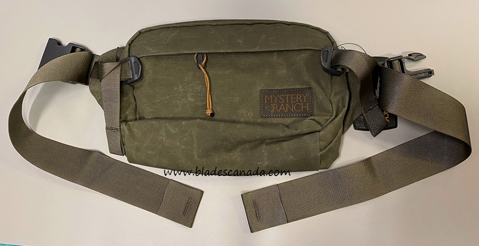 Mystery Ranch Full Moon Convertible Waist Pack - Wood Waxed