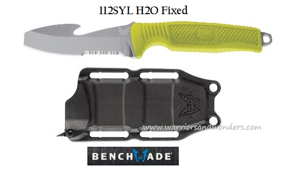 Benchmade H2O Fixed w/ Molded Sheath - Yellow 112SYEL