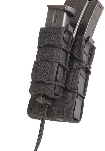 High Speed Gear 11DD00BK Double Decker Taco MOLLE - Black
