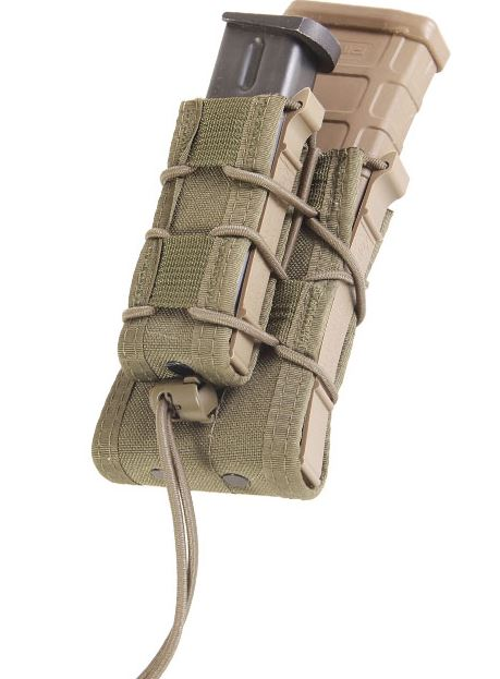 High Speed Gear 11DD00OD Double Decker Taco MOLLE - Olive Drab