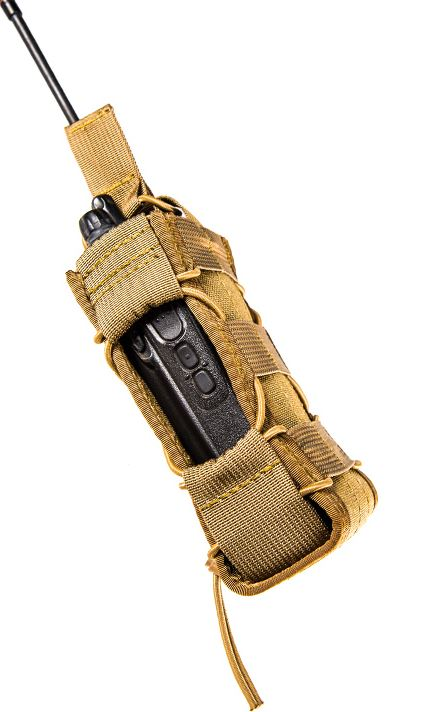 High Speed Gear 11MAC0CB Multi Access Comm Taco - MOLLE - Brown