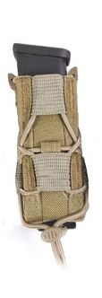High Speed Gear 11PT00CB Pistol Taco - MOLLE - Brown