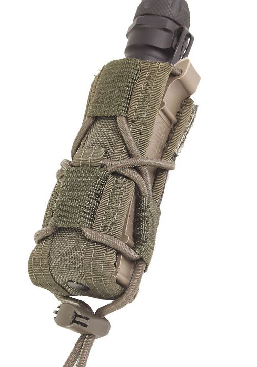 High Speed Gear 11PT00OD Pistol Taco - MOLLE - Olive Drab
