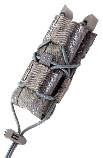 High Speed Gear 11PT00WG Pistol Taco - MOLLE - Wolf Grey