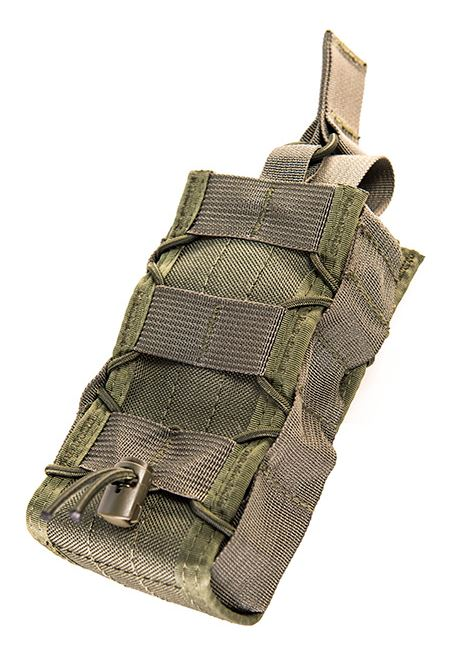 High Speed Gear 11RD00OD Radio Pop Up Taco-MOLLE-Olive Drab