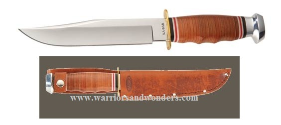 Ka-Bar 1236 Hunter's Bowie w/Tan Leather Sheath (Online Only)
