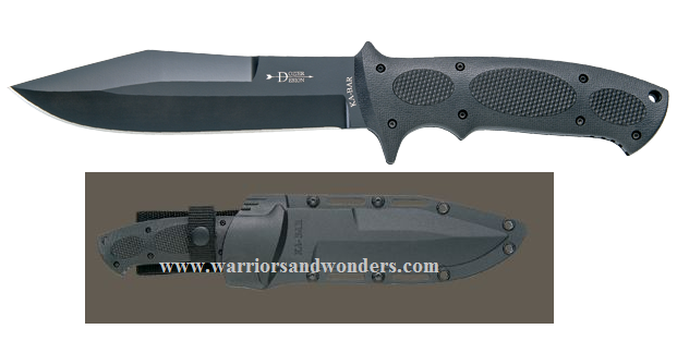 Ka-Bar 1275 Bob Dozier's Bull Dozier w/Hard Sheath (Online Only)