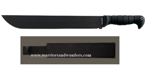Ka-Bar 1279 Grass Machete w/ Cordura Sheath