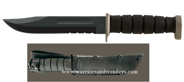 Ka-Bar 1283 D2 Extreme Fighting, Leather Sheath (Online Onlly)